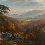 American Landscape Paintings Century Living Blue Ridge Mountains