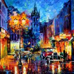 Amsterdam Palette Knife Oil Painting Canvas Leonid