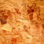 Ancient Astronauts Intriguing Year Old Cave Paintings India Show Aliens