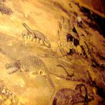Ancient Cave Drawing Dinosaurs Drawings