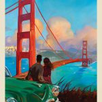 Anderson Design Group Kai Carpenter Collection Oil Painting San Francisco