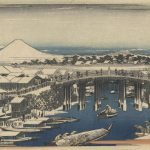 Ando Hiroshige Nihonbashi Clearing After Snow Painting