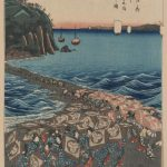 Ando Hiroshige Opening Celebration Benzaiten Shrine Enoshima