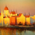 Andrew Gifford Impressionist Cityscape Painting Art