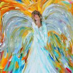 Angel Karen Tarlton Painting Fine Art Prints Posters