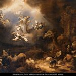 Angels Announcing Birth Christ Shepherds Govert Teunisz Flinck