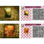 Animal Crossing New Leaf Nintendo Custom Tiles Scan Codes Good