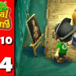 Animal Crossing New Leaf Part Real Art Nintendo Gameplay Walkthrough Day
