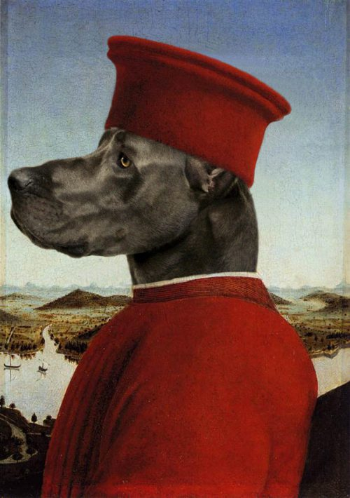 Animals Painted Into Famous Renaissance