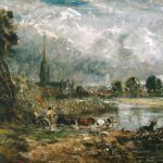 Anne Lyles Sublime Nature John Constable Salisbury Cathedral Meadows