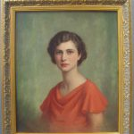 Antiques Atlas Oil Painting Portrait Averil Kingston
