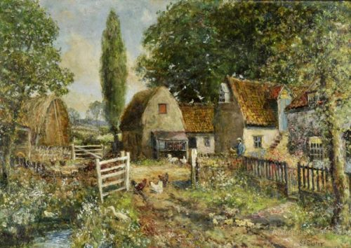 Antiques Atlas Poplar Farm John Falconer