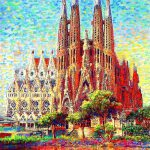 Antoni Gaudi Paintings Fine Art