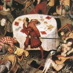 Any Given Day Black Death Its Influence Painters Art Middle