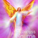Archangel Sandalphon Flight Angel Painting Art Glenyss Bourne