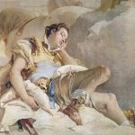 Armida Adbucting Sleeping Rinaldo Painting Giovanni Battista