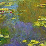 Art Artists Claude Monet Part Water
