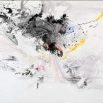 Art Julie Mehretu Abstract Architectural Imagery Superselected Black Fashion