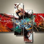 Art Modern Abstract Oil Painting Cool Best Abstraction Colorful
