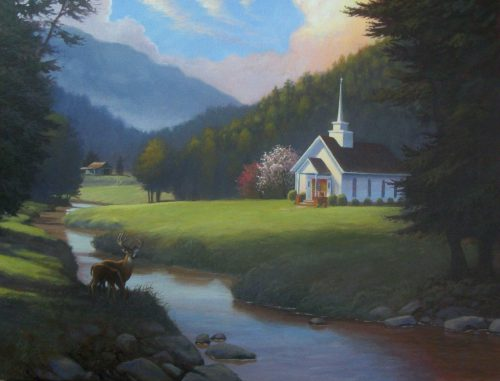 Art Murals Ministry Little Country Church