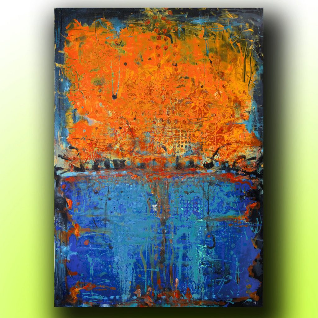 Art Painting Abstract Acrylic