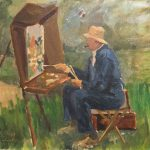 Art Winston Churchill Project Hillsdale