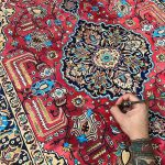 Artist Creates Paintings Look Like Impossibly Detailed Persian