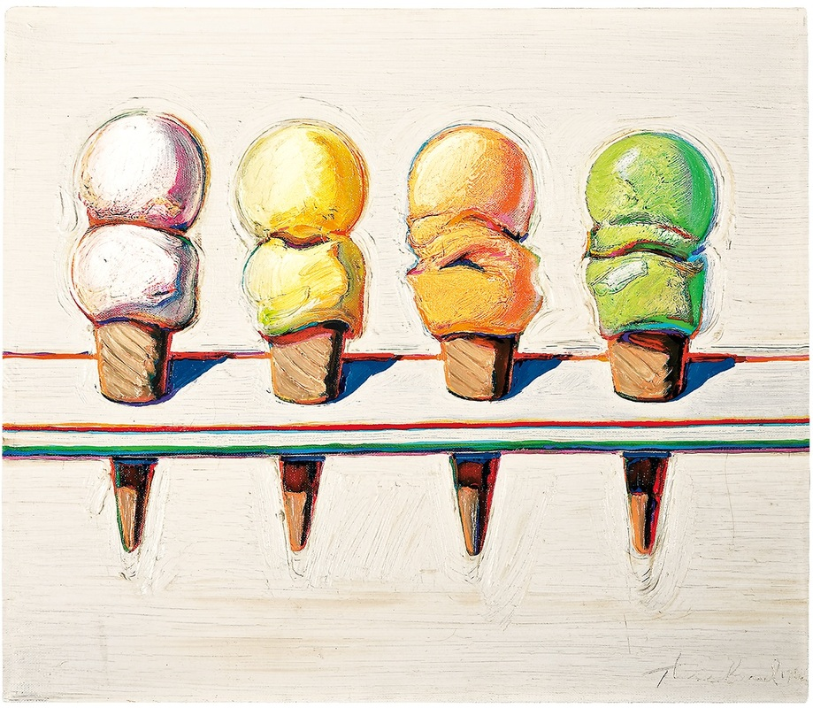 Artist Research Wayne Thiebaud Anne Hunter