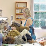 Artistic Fiber Local Artist Finds Success Needle Felted Creations Features