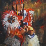 Artists Texas Contemporary S Art Waiting Native American Oil