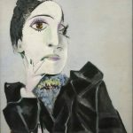 Work Pablo Picasso Dora Maar Green Nails Painting Stack
