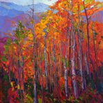 Aspen Flame Purchase Contemporary Impressionism Prints Erin