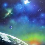Auroa Borealis Space Painting Thomas