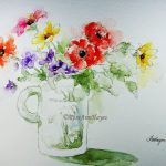 Available S Prints Floral Watercolor