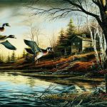 Backwoods Cabin Terry Redlin Open Edition Print