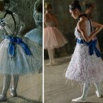 Ballerina Recreates Paintings Edgar Degas Bored