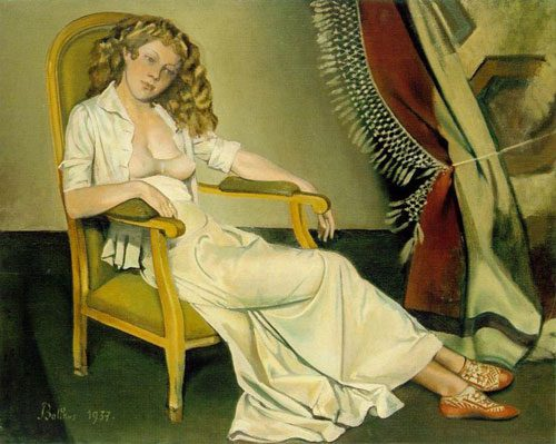 Balthus Major Figure Figurative