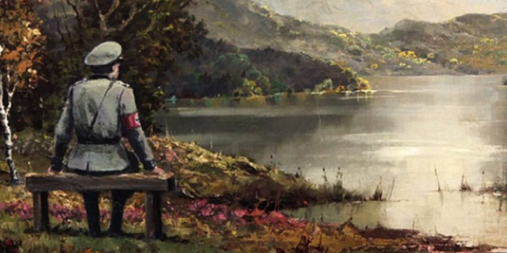 Banksy Thrift Store Painting Sells
