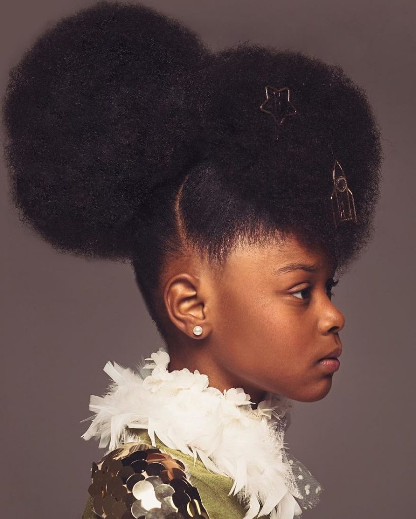 Baroque Inspired Portraits Black Girls Highlight Their Amazing Natural Hair