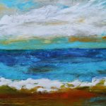 Beach Abstract Painting Karen