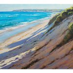 Beach Oil Paintings Impressionist Sand Dunes Art
