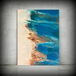 Beach Painting Abstract