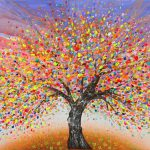 Beautiful Tree Paintings Premium