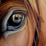 Beautiful Watercolor Paintings Horses Showcases Their Power