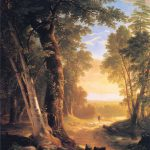 Beeches Asher Brown Durand Oil Painting