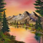 Best Bob Ross Paintings Ideas Pinterest Art Black