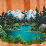 Best Bob Ross S Ideas Pinterest Art Moon