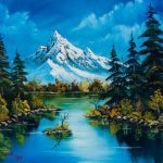 Best Bob Ross Pinterest Paintings Acrylics Art
