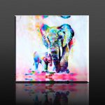 Best Collection Elephant Canvas Wall