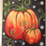 Best Fall Canvas Art Ideas Pinterest Pumpkin